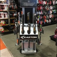 Easton Baseball Bat Triangular Display Home Run