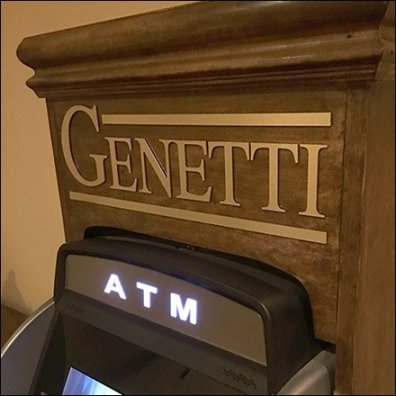 Fine Crafted Wood ATM in Hospitality Retail