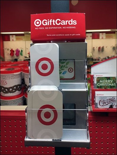 Gift Card Tiered-Rack For Cashwrap Post Upright