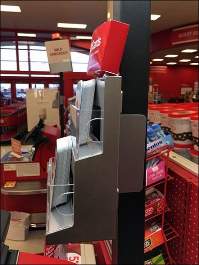 Gift Card Tiered Rack For Upright 3