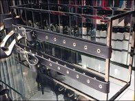 Karen Millen Rectangular Space Frame For Belts 2