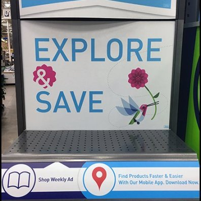 Lowes Spring Literature Holder Mobile App Tower Feature