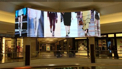 Mall at Short Hills Concourse Video Billboard 03