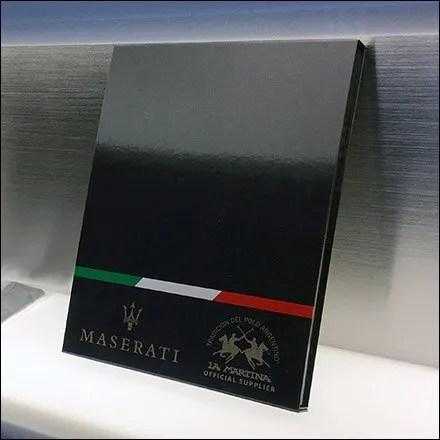 Maserati Dealership V.I.P. Amenities