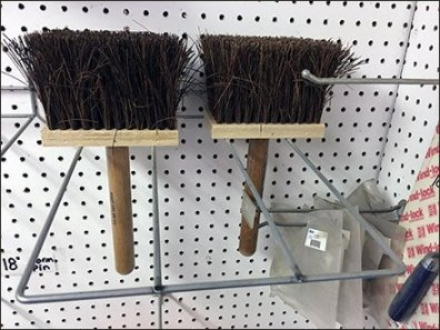 Masonry Brush Pegboard Rack 2