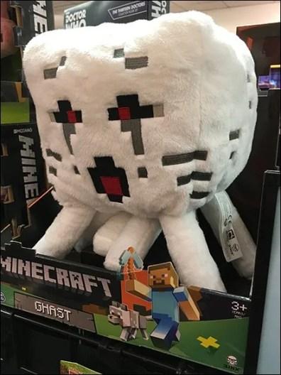 Minecraft Ghast Plush 3