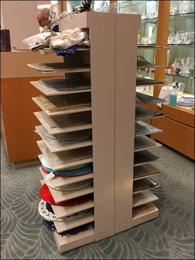 Neiman Marcus Napkin & Placemat Tower 3