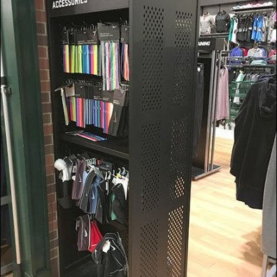Nike Diamond Pattern Perforated Rack