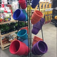 Plant Pot Trapezoidal Tower Rack