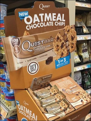 QuestBar Sold By The Bar or Box