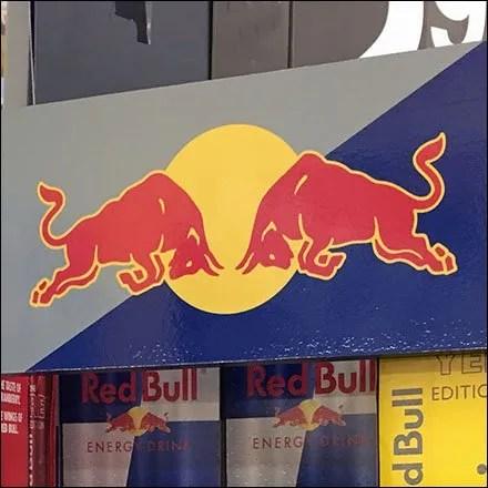 Red Bull Retail Fixtures - Shelf Merchandising Unit