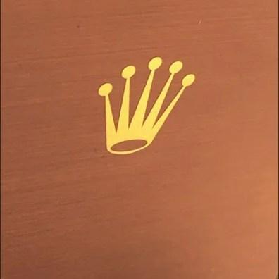 Rolex Wrist Watch Mirrir Back Branding 3