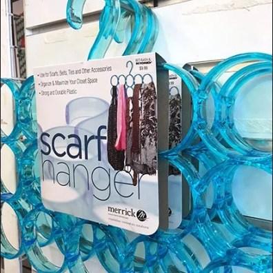 Scarf Hanger Slatwall 4