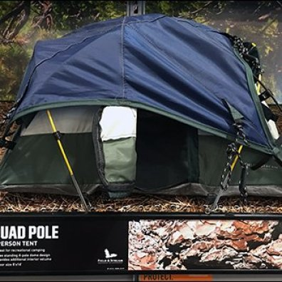 Shelf-Edge Camping Tent Miniatures 4