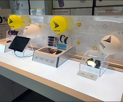 Sprint Table-Top In-Store Balloon Branding