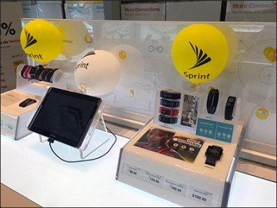 Sprint Table-Top Balloon Branding 2