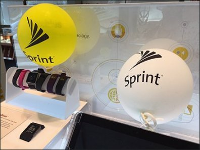 Sprint Table-Top Balloon Branding 3