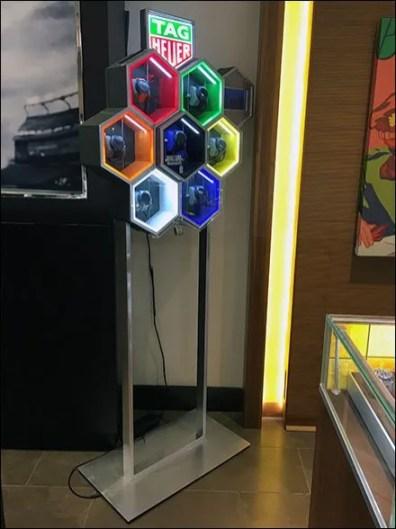 Tag Heuer Neon Hexagon Honeycomb