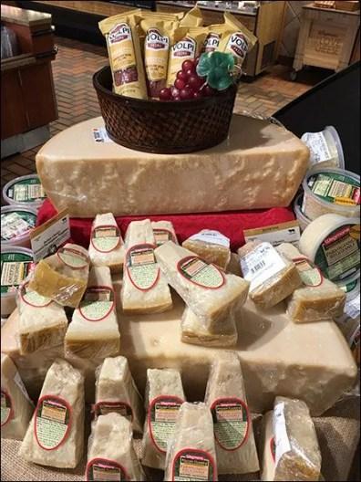 Wegmans Cheese Island Display 3