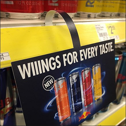 Red-Bull Wings-For-Every-Taste Dangler