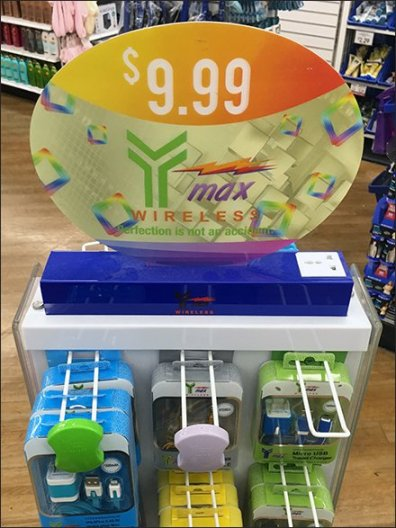 Y-Max Wireless Accessories Spinner Tower 3