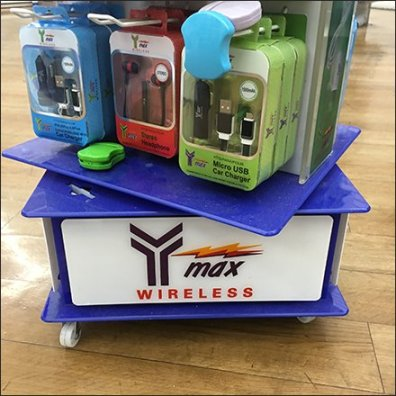 Y-Max Wireless Branded Base Spinner Tower