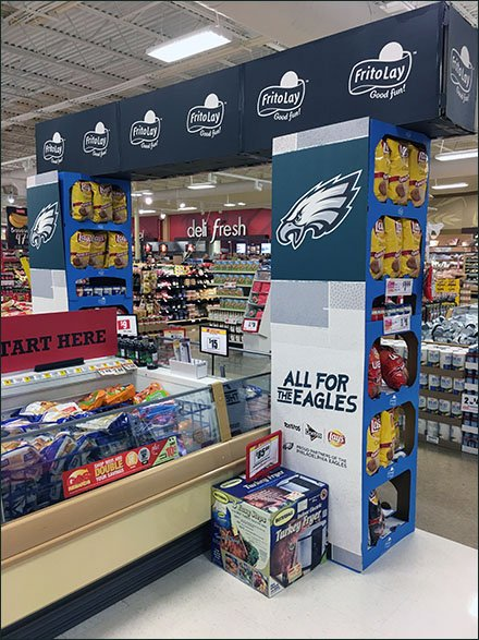 All For The Eagles Super Bowl Snacks Flyover