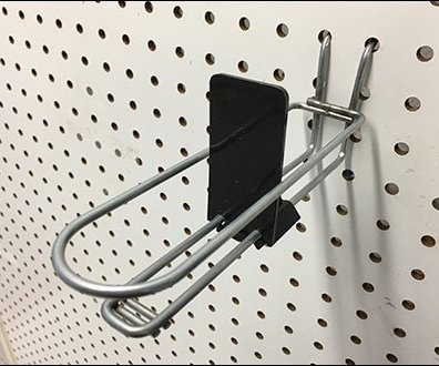 Auto Feed Loop Hook Pegboard Tray 2