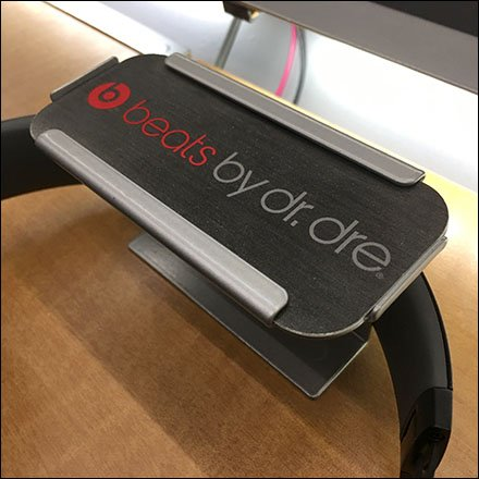 Beats By Dr. Dre C-Channel Sign Holder for Headphones