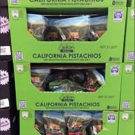 California Pistachio QR Code Pallet Display 2