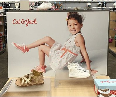 Cat and Jack Shoe Branding 2