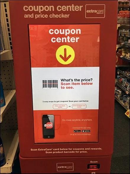 Coupon Center Doubles as Price Checker