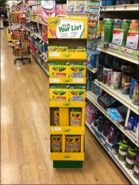 Crayola, It's On Your List Tag Line