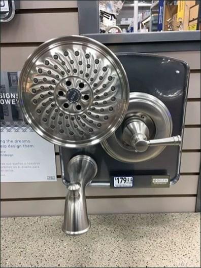 Delta Three-fer Shower Fitting Presentation