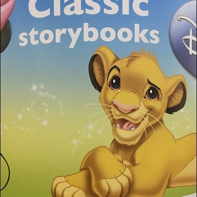 Disney Storybooks Open Wire Spinner