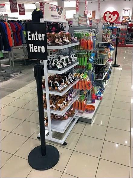 Enter Here QueueNavigation
