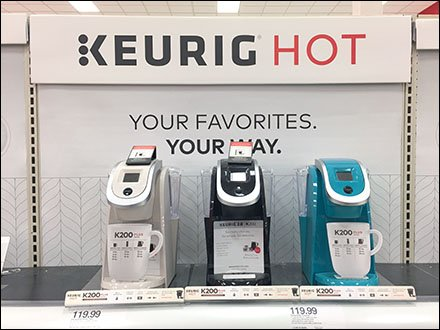 Keurig Logo And Brand Enhancement