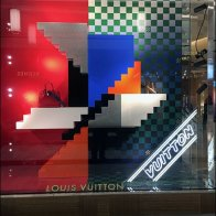 Louis Vuitton Impossible Staircase Window