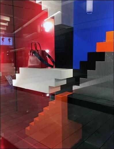 Louis Vuitton Impossible Stairway Purse Window 3