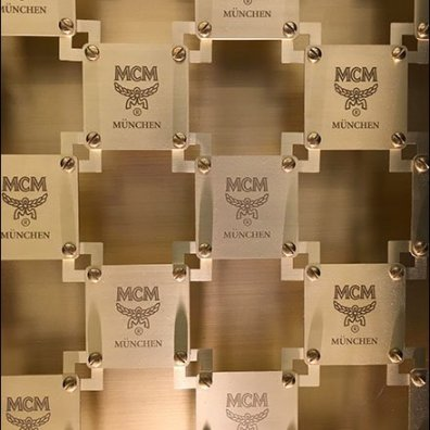 MCM Bag Branded Security Grill 2
