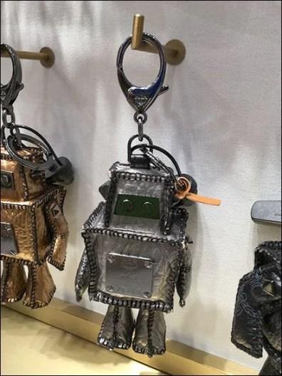 MCM Purse Charm 90º Tip Display Hooks