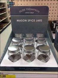 Mason Spice Jars Made New Again