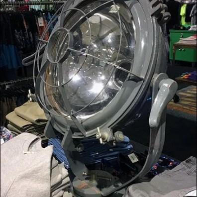Nautical prop Signal Lamp Visual Merchandising Prop