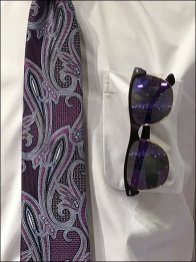 Matching Necktie And Sunglasses At Nordstrom