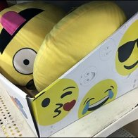 Plush Emoji Pillow Trays In Category Definition Corrugated