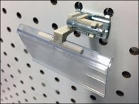 Right-Angle Wall Tag Flip-Front Label Holder 2