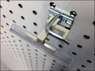 Right-Angle Wall Tag Flip-Front Label Holder 3
