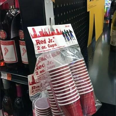 Shot Glass Grab-N-Go By Strip Merchandiser