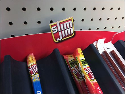 Slim Jim & Beef Jerky Table-Top Trays