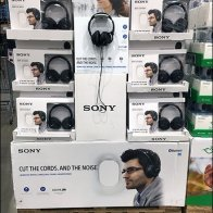 Sony Headphones Cut The Cords and Noise